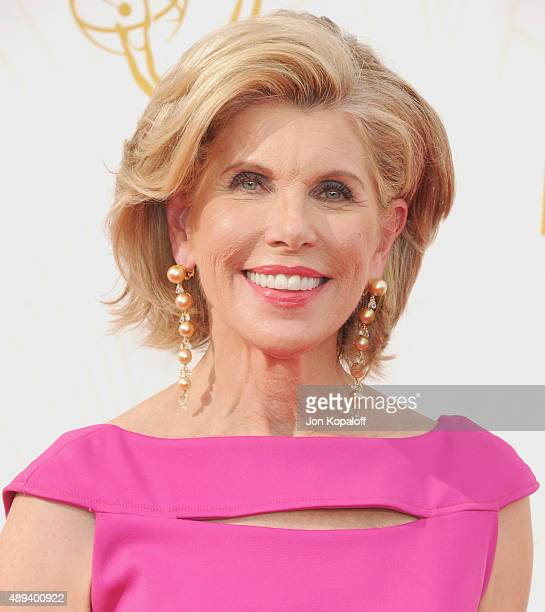 Actress Christine Baranski arrives at the 67th Annual Primetime Emmy Awards at Microsoft Theater on September 20 2015 in Los Angeles California