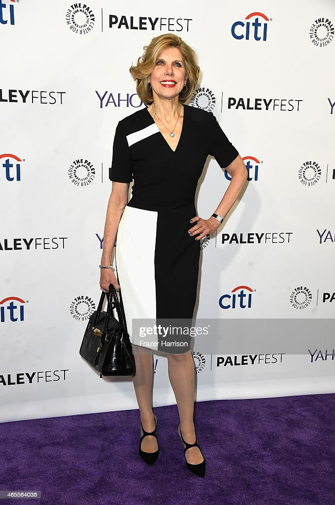 Actress Christine Baranski arrives at The Paley Center For Media's 32nd Annual PALEYFEST LA 'The Good Wife' at Dolby Theatre on March 7 2015 in...