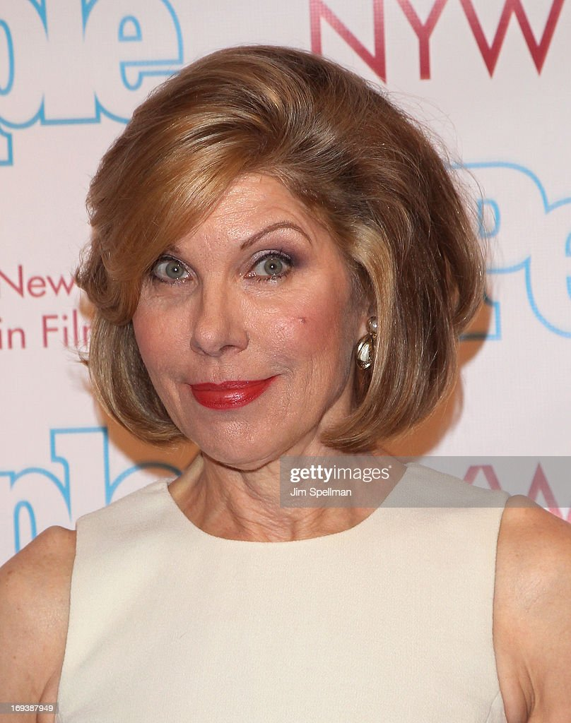 Actress Christine Baranski attends 2013 NYWIFT Designing Women Awards at The McGraw-Hill Building on May 23, 2013 in New York City.