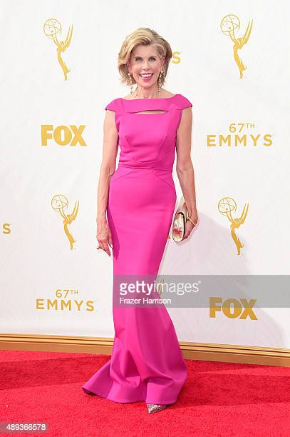 Actress Christine Baranski attends the 67th Annual Primetime Emmy Awards at Microsoft Theater on September 20 2015 in Los Angeles California