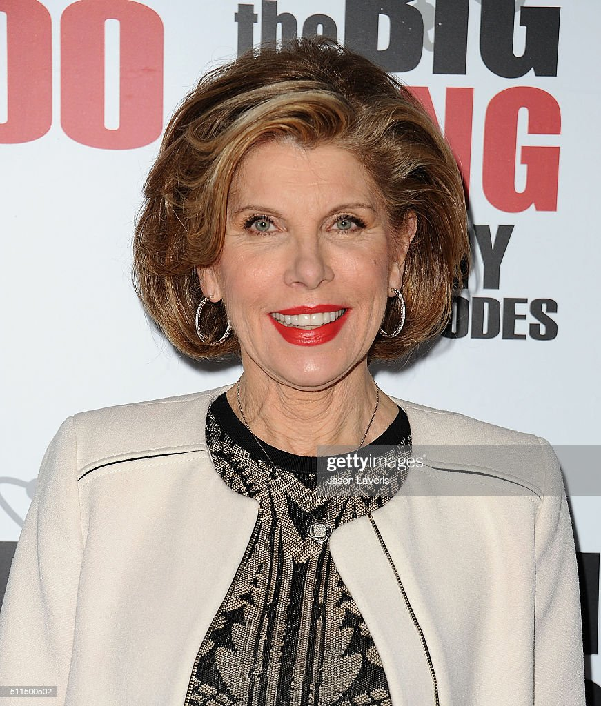 Actress Christine Baranski attends 'The Big Bang Theory' 200th episode celebration at Vibiana on February 20 2016 in Los Angeles California
