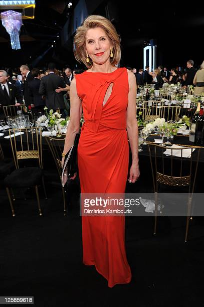 Actress Christine Baranski attends the TNT/TBS broadcast of the 17th Annual Screen Actors Guild Awards held at The Shrine Auditorium on January 30...