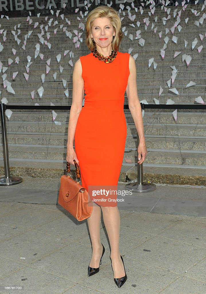 Actress Christine Baranski attends the Vanity Fair Party 2013 Tribeca Film Festival Opening Night Party held at the New York State Supreme Courthouse on April 16, 2013 in New York City.