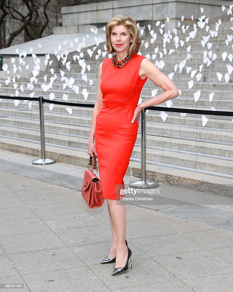 Actress Christine Baranski attends the Vanity Fair Party during the 2013 Tribeca Film Festival at the State Supreme Courthouse on April 16, 2013 in New York City.