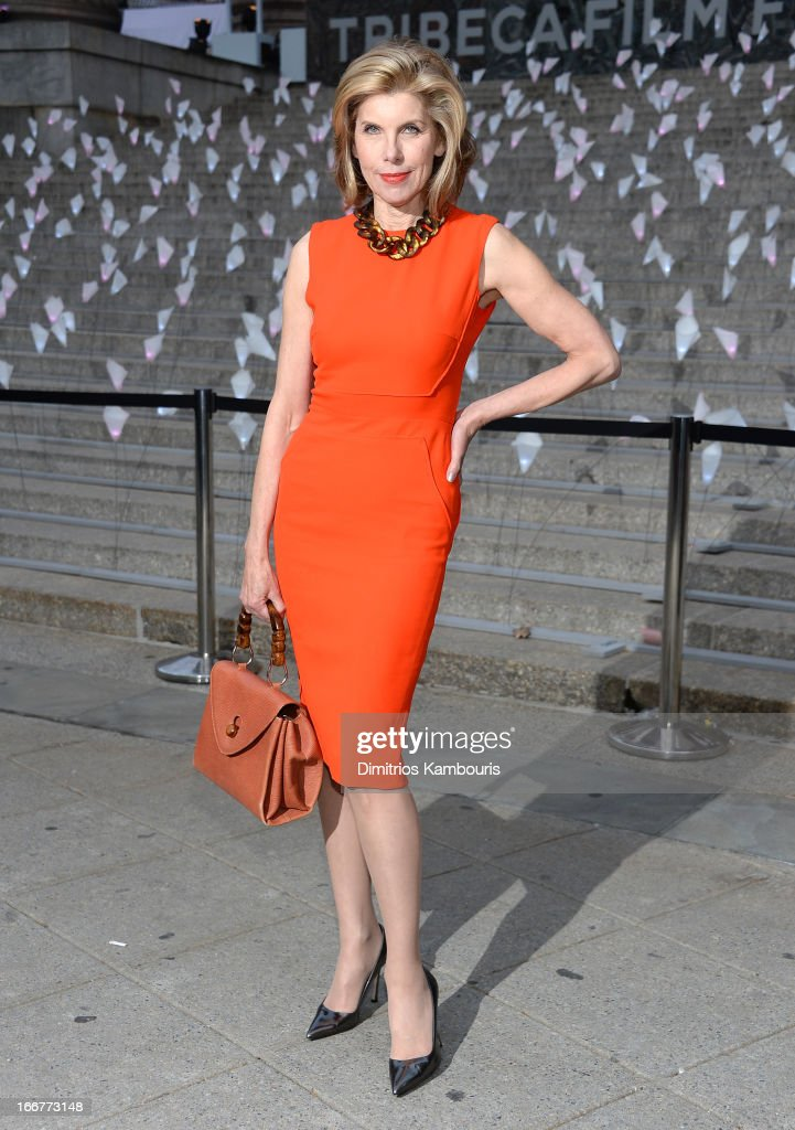Actress Christine Baranski attends Vanity Fair Party for the 2013 Tribeca Film Festival on April 16, 2013 in New York City.