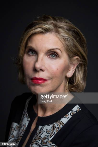 Actress Christine Baranski is photographed for Los Angeles Times on January 9 2017 in Los Angeles California