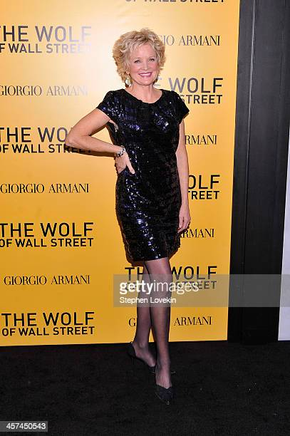 Actress Christine Ebersole attends Giorgio Armani Presents 'The Wolf Of Wall Street' world premiere at the Ziegfeld Theatre on December 17 2013 in...