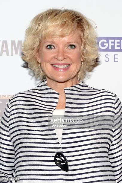 Actress Christine Ebersole attends the Not Since High School Benefit at 42West on August 24 2014 in New York City