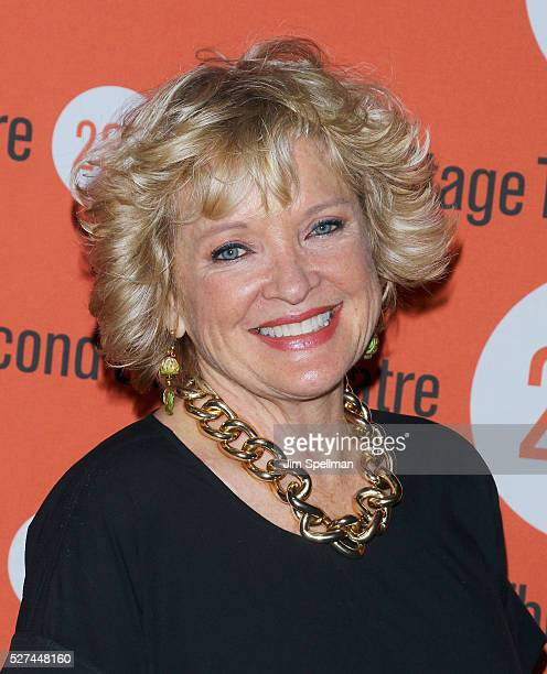 Actress Christine Ebersole attends The Second Stage 37th Anniversary Gala at Cipriani 42nd Street on May 2 2016 in New York City