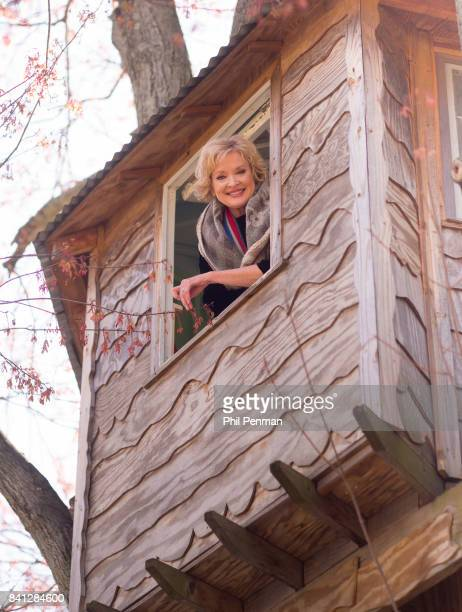 Actress Christine Ebersole is photographed for Closer Weekly Magazine on April 14 2016 at home in New Jersey Ebersole's husband Bill Moloney built...