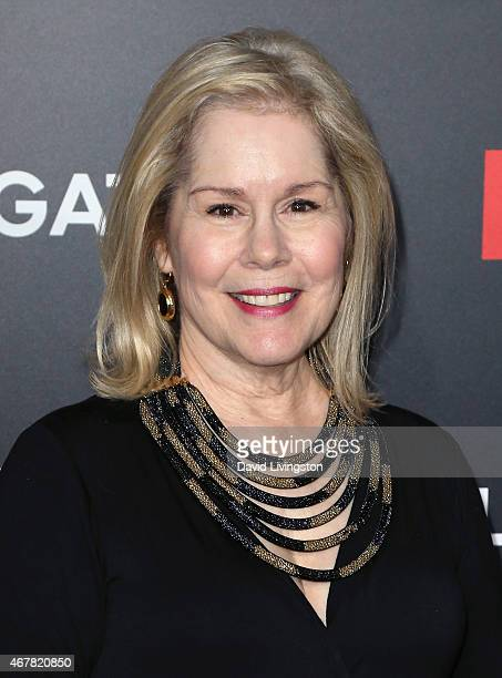 Actress Christine Estabrook attends the AMC celebration of the final 7 episodes of 'Mad Men' with The Black Red Ball at the Dorothy Chandler Pavilion...