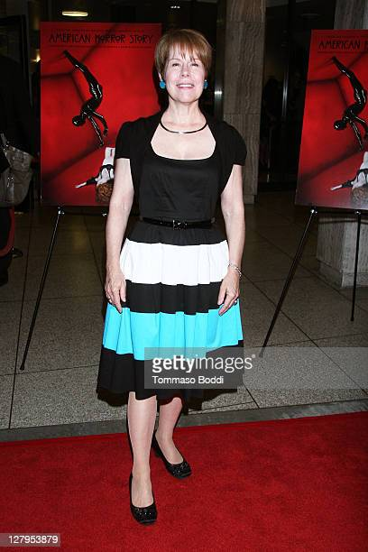 Actress Christine Estabrook attends the FX's 'American Horror Story' Los Angeles premiere held at the ArcLight Cinemas Cinerama Dome on October 3...