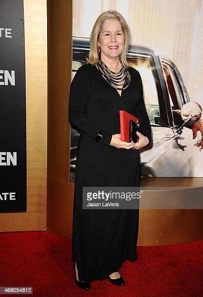 Actress Christine Estabrook attends the 'Mad Men' Black Red Ball at Dorothy Chandler Pavilion on March 25 2015 in Los Angeles California
