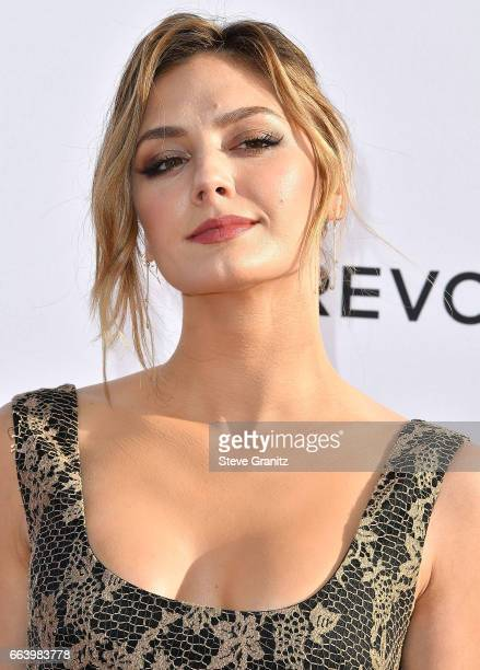 Actress Christine Evangelista arrives at the Daily Front Row's 3rd Annual Fashion Los Angeles Awards on April 2 2017 in West Hollywood California