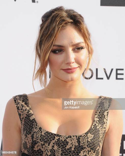 Actress Christine Evangelista arrives at the Daily Front Row's 3rd Annual Fashion Los Angeles Awards at the Sunset Tower Hotel on April 2 2017 in...