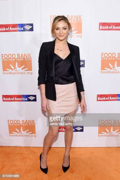 Actress Christine Evangelista attends the Food Bank for New York City CanDo Awards Dinner 2017 on April 19 2017 in New York City