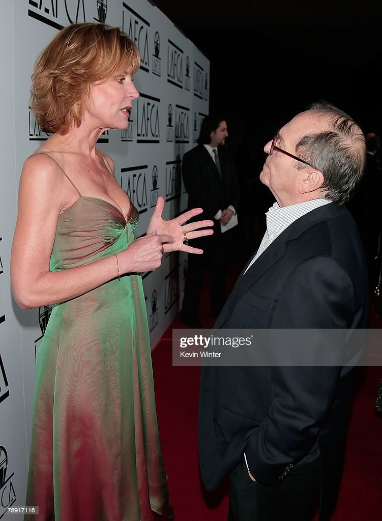 Actress Christine Lahti and director Sidney Lumet arrive at the 2007 LA Film Critic's Choice Awards held at the InterContinental on January 12, 2008 in Los Angeles, California.