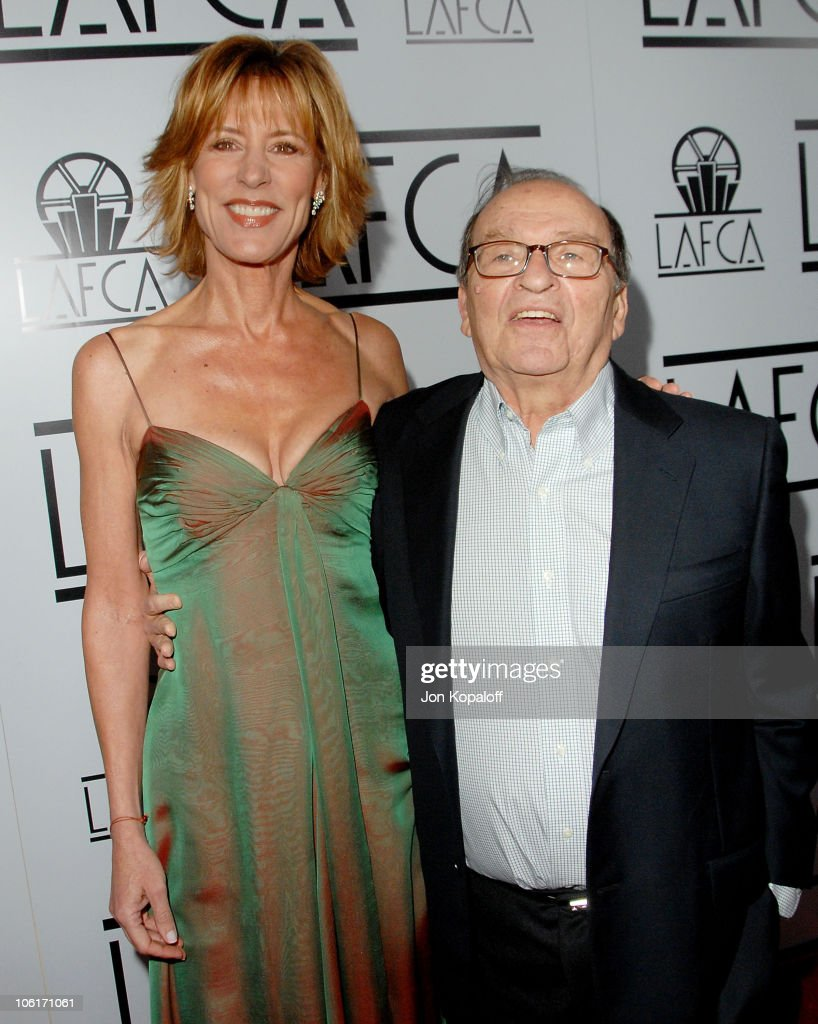 Actress Christine Lahti and director Sidney Lumet arrive to The 33rd Annual Los Angeles Film Critics Awards at the InterContinental Hotel on January 12, 2008 in Century City, California
