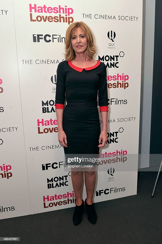 Actress <a gi-track='captionPersonalityLinkClicked' href=/galleries/search?phrase=Christine+Lahti&family=editorial&specificpeople=213107 ng-click='$event.stopPropagation()'>Christine Lahti</a> attends IFC Films' 'Hateship Loveship' screening hosted by The Cinema Society and Montblanc at the Museum of Modern Art on April 8, 2014 in New York City.