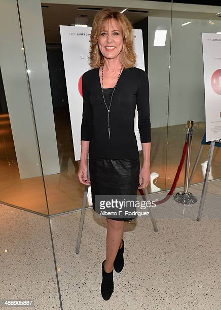Actress Christine Lahti attends the premiere of Atlas Films' 'Fed Up' at Pacfic Design Center on May 8 2014 in West Hollywood California