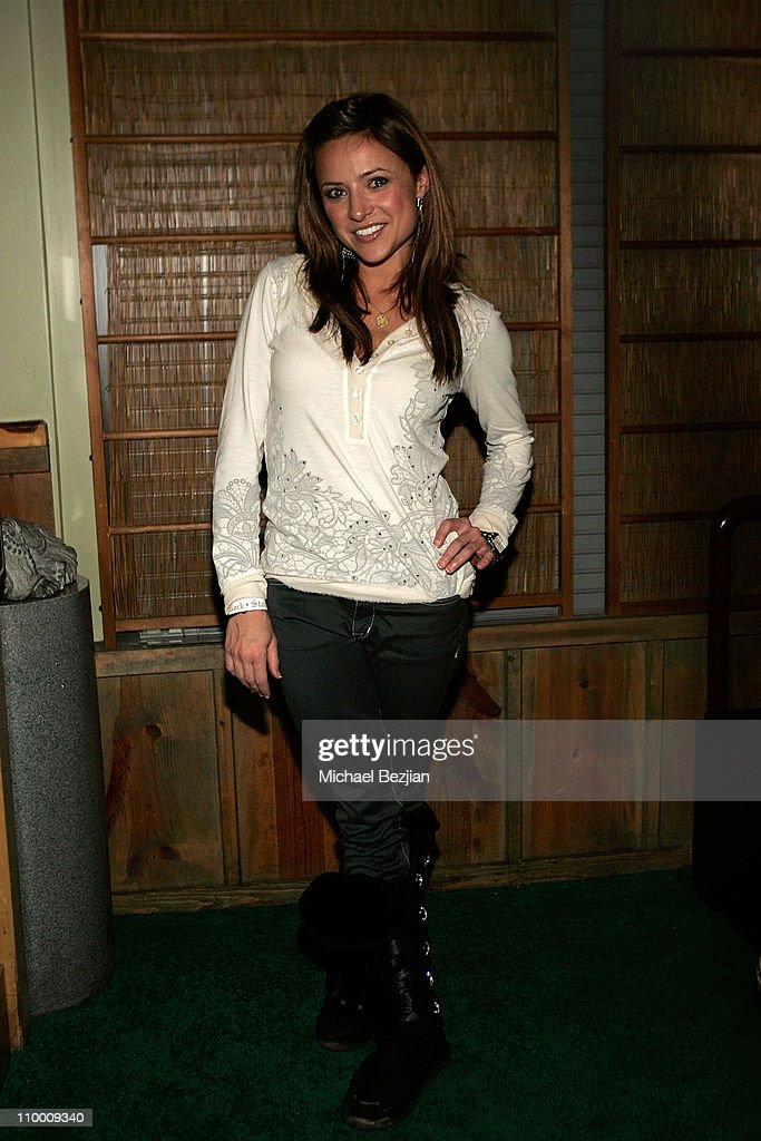 Actress Christine Lakin attends the Dinner Parties at the Heineken Lounge on January 22 2008 in Park City Utah