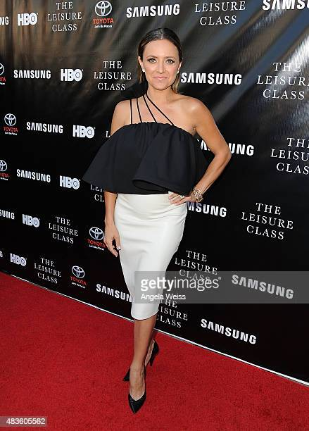 Actress Christine Lakin attends the Project Greenlight Season 4 Winning Film premiere 'The Leisure Class' presented by Matt Damon Ben Affleck...