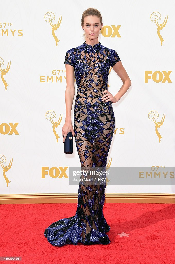 Actress Christine Marzano attends the 67th Annual Primetime Emmy Awards at Microsoft Theater on September 20 2015 in Los Angeles California