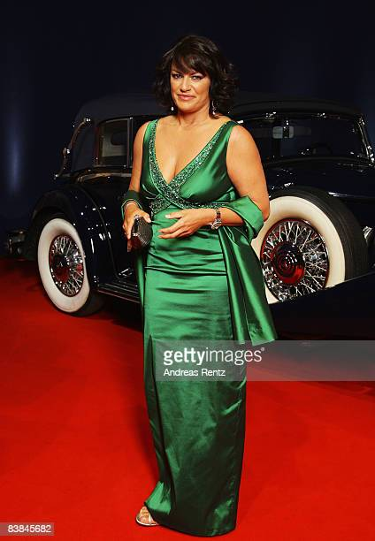 Actress Christine Neubauer arrives at the Bambi Awards 2008 on November 27 2008 in Offenburg Germany