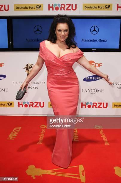 Actress Christine Neubauer attend the Goldene Kamera 2010 Award at the Axel Springer Verlag on January 30 2010 in Berlin Germany