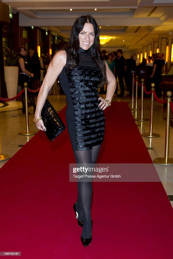 Actress Christine Neubauer attends the Fitness First New You Achievement Awards at the Maritim Hotel on January 18, 2013 in Berlin, Germany.