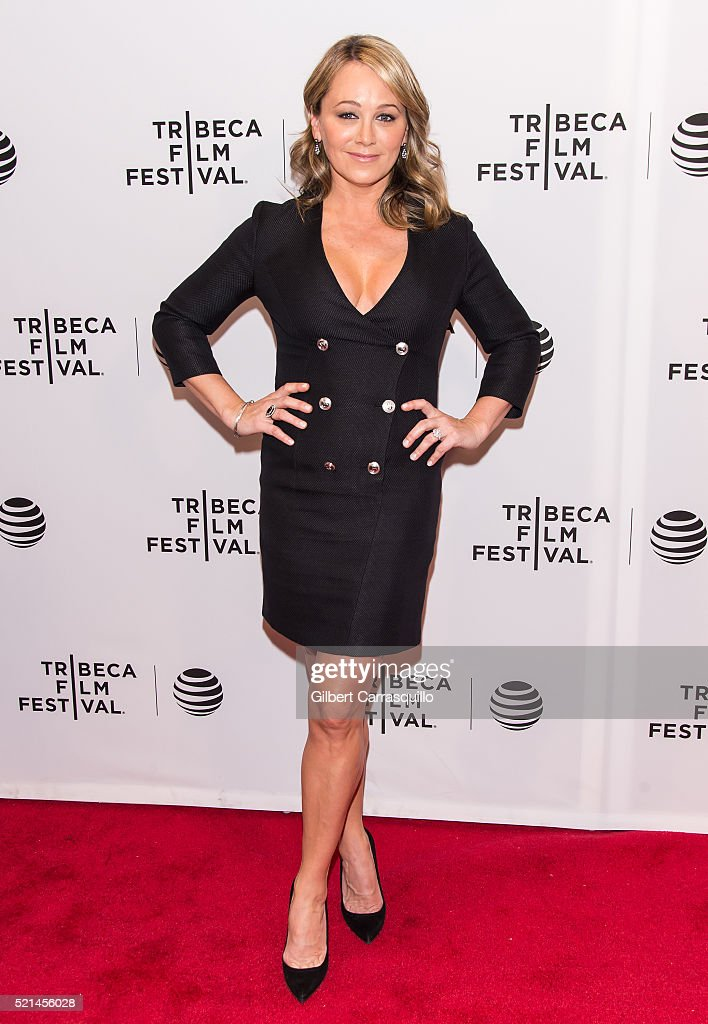 Actress Christine Taylor attends the 'Little Boxes' Premiere during 2016 Tribeca Film Festival at Chelsea Bow Tie Cinemas on April 15, 2016 in New York City.