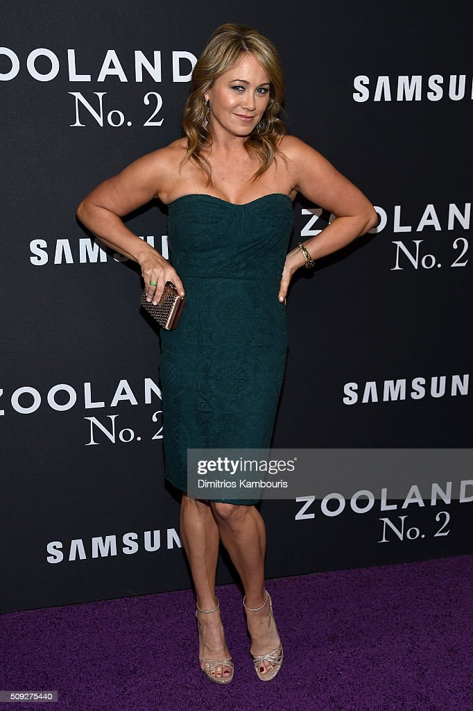 Actress Christine Taylor attends the 'Zoolander 2' World Premiere at Alice Tully Hall on February 9, 2016 in New York City.