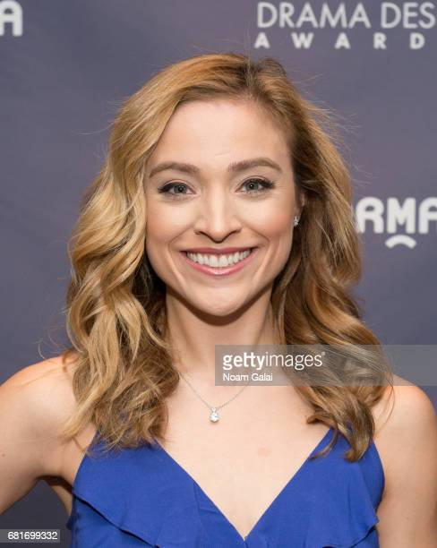 Actress Christy Altomare attends the 2017 Drama Desk Nominees Reception at Marriott Marquis Times Square on May 10 2017 in New York City