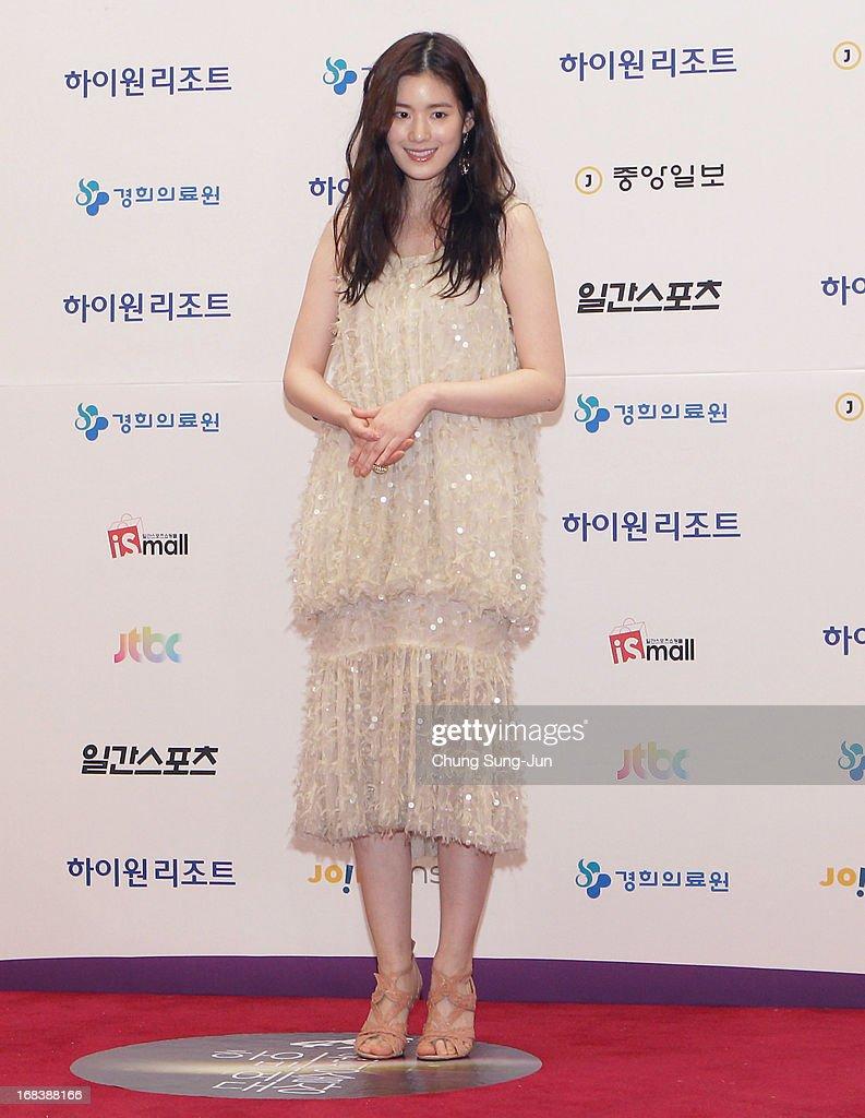 Actress Chung Eun-Chae arrives for the 49th Paeksang Arts Awards on May 9, 2013 in Seoul, South Korea.