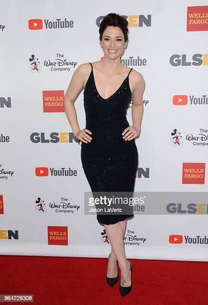 Actress Chyler Leigh attends the 2017 GLSEN Respect Awards at the Beverly Wilshire Four Seasons Hotel on October 20 2017 in Beverly Hills California