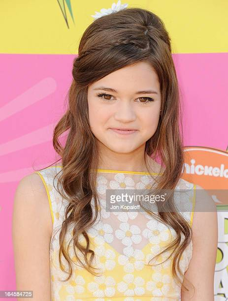 Actress Ciara Bravo arrives at Nickelodeon's 26th Annual Kids' Choice Awards at USC Galen Center on March 23 2013 in Los Angeles California