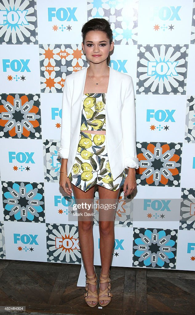 Actress <a gi-track='captionPersonalityLinkClicked' href=/galleries/search?phrase=Ciara+Bravo&family=editorial&specificpeople=6567800 ng-click='$event.stopPropagation()'>Ciara Bravo</a> attends the Fox Summer TCA All-Star party held at the SOHO house on July 20, 2014 in West Hollywood, California.