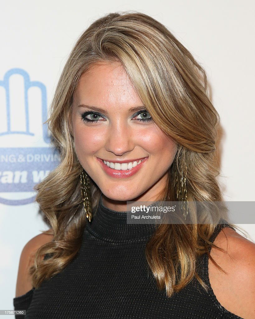 Actress Ciara Hanna attends the special screening of 'From One Second To The Next' at the SilverScreen Theater at the Pacific Design Center on August 8, 2013 in West Hollywood, California.
