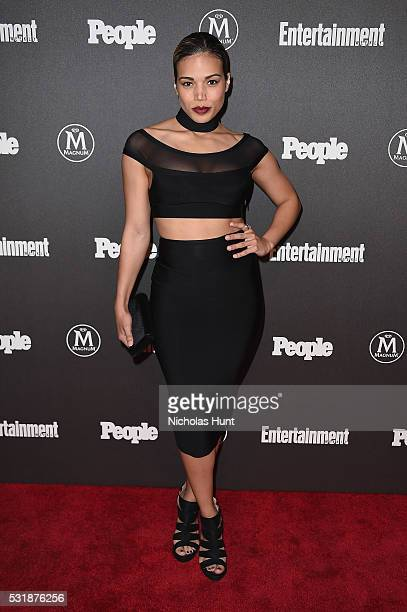 Actress Ciara Renée attends the 2016 Entertainment Weekly People New York Upfronts VIP Party at Cedar Lake on May 16 2016 in New York City