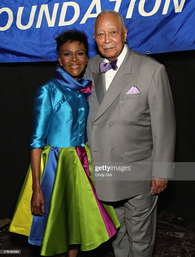 Actress Cicely Tyson and former Mayor of New York City David Dinkins attend the I Have A Dream Foundation 'Spirit of the Dream' Gala at Gotham HallCicely Tyson on June 9, 2015 in New York City.