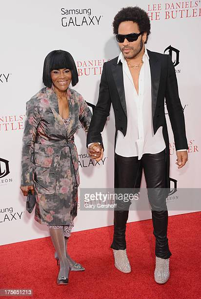Actress Cicely Tyson and musician Lenny Kravitz attend Lee Daniels' 'The Butler' New York Premiere at Ziegfeld Theater on August 5 2013 in New York...