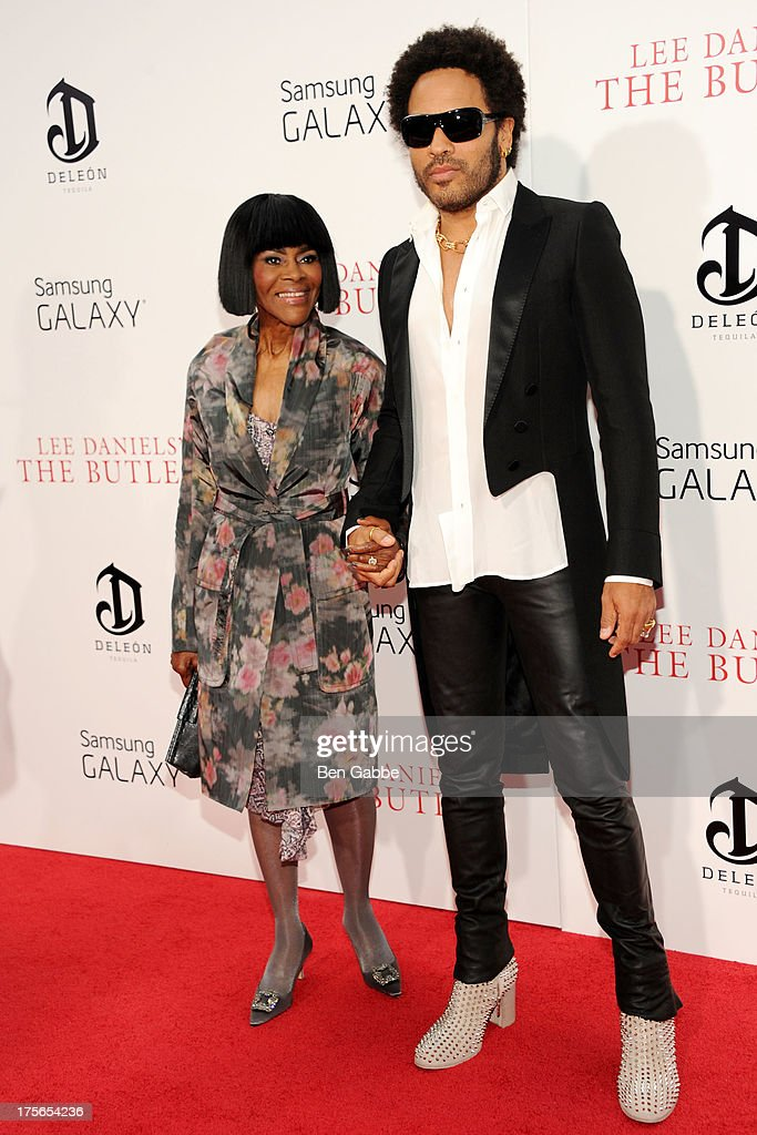 Actress <a gi-track='captionPersonalityLinkClicked' href=/galleries/search?phrase=Cicely+Tyson&family=editorial&specificpeople=211450 ng-click='$event.stopPropagation()'>Cicely Tyson</a> (L) and singer-songwriter and actor <a gi-track='captionPersonalityLinkClicked' href=/galleries/search?phrase=Lenny+Kravitz&family=editorial&specificpeople=171613 ng-click='$event.stopPropagation()'>Lenny Kravitz</a> attend Lee Daniels' 'The Butler' New York Premiere at Ziegfeld Theater on August 5, 2013 in New York City.