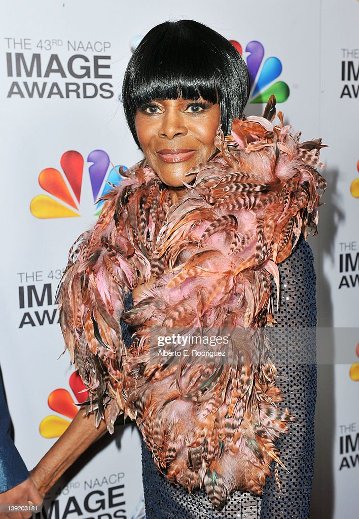 Actress <a gi-track='captionPersonalityLinkClicked' href=/galleries/search?phrase=Cicely+Tyson&family=editorial&specificpeople=211450 ng-click='$event.stopPropagation()'>Cicely Tyson</a> arrives at the 43rd NAACP Image Awards held at The Shrine Auditorium on February 17, 2012 in Los Angeles, California.