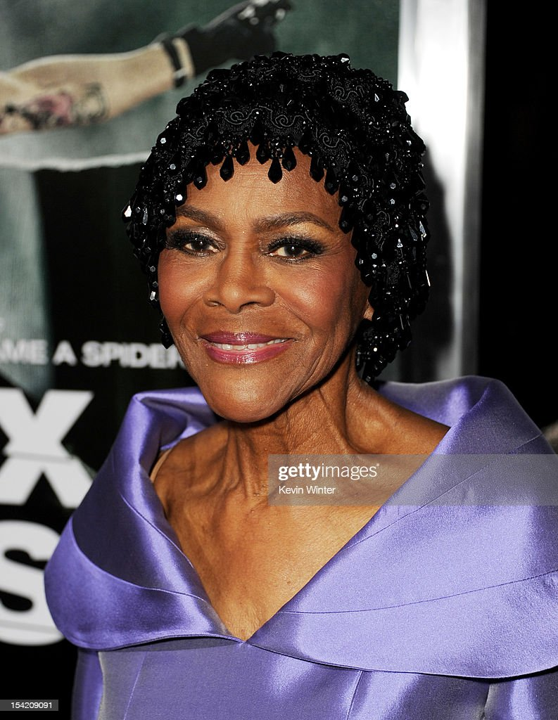 Actress Cicely Tyson arrives at the premiere of Summit Entertainment's 'Alex Cross' at the Arclight Theater on October 15, 2012 in Los Angeles, California.