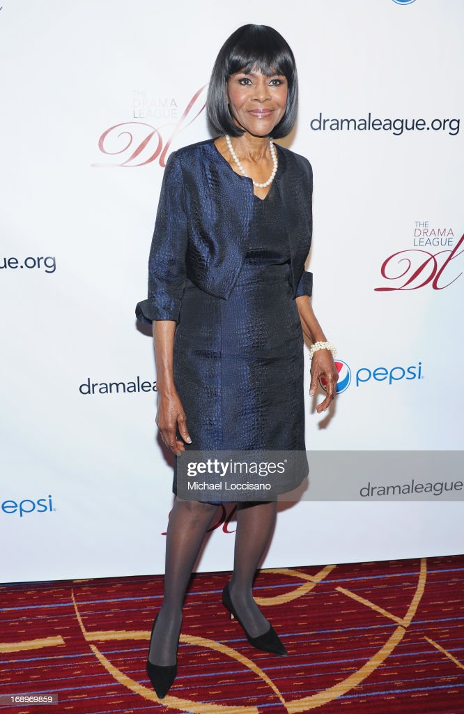 Actress <a gi-track='captionPersonalityLinkClicked' href=/galleries/search?phrase=Cicely+Tyson&family=editorial&specificpeople=211450 ng-click='$event.stopPropagation()'>Cicely Tyson</a> attends the 79th Annual Drama League Awards Ceremony And Luncheon at Marriott Marquis Hotel on May 17, 2013 in New York City.