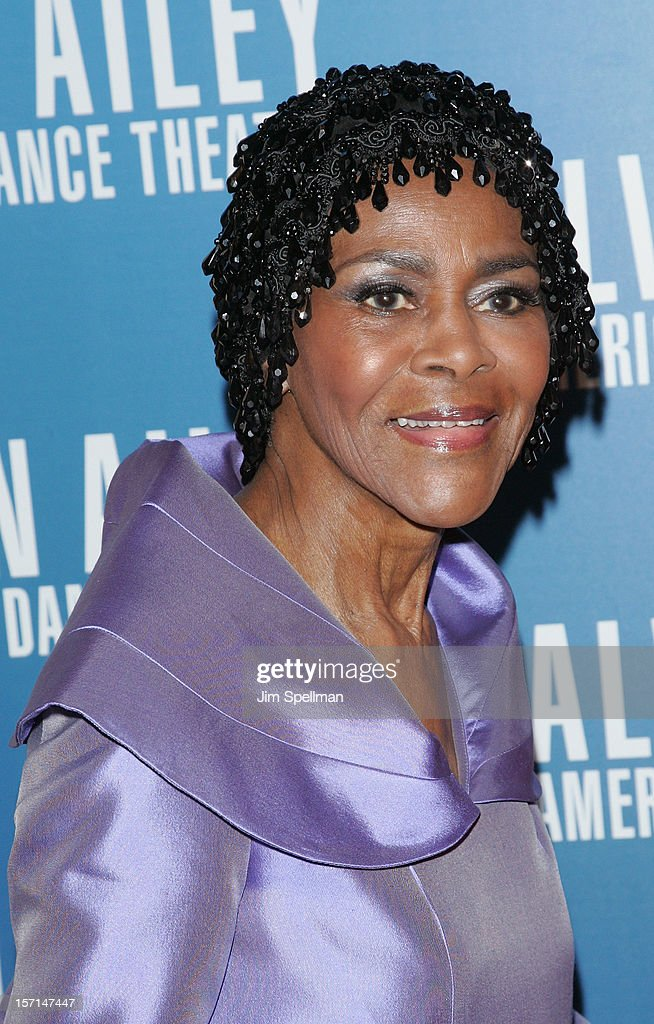Actress Cicely Tyson attends the Alvin Ailey American Dance Theater Opening Night Gala at New York City Center on November 28, 2012 in New York City.