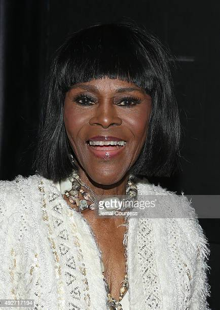 Actress Cicely Tyson attends 'The Gin Game' Broadway opening night after party at Sardi's on October 14 2015 in New York City