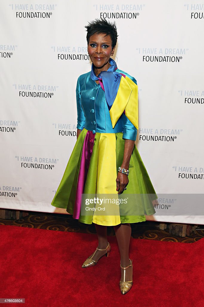 Actress Cicely Tyson attends the I Have A Dream Foundation 'Spirit of the Dream' Gala at Gotham HallCicely Tyson on June 9, 2015 in New York City.