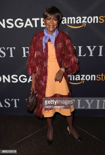 Actress Cicely Tyson attends the premiere of Amazon's 'Last Flag Flying' at the DGA Theater on November 1 2017 in Los Angeles California