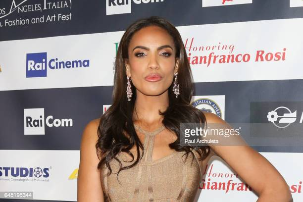Actress Ciera Foster attends the 12th edition of The Los Angeles Italia Film Fashion and Art Fest closing nite at TCL Chinese 6 Theatres on February...